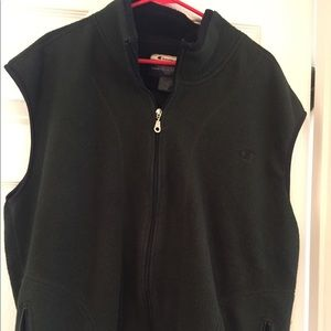 Champion olive vest. Vintage XL
